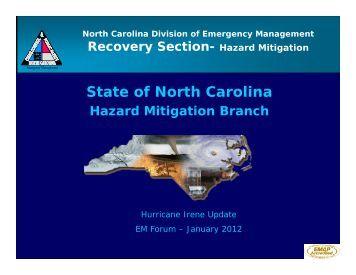 State of North Carolina - North Carolina Department of Public Safety