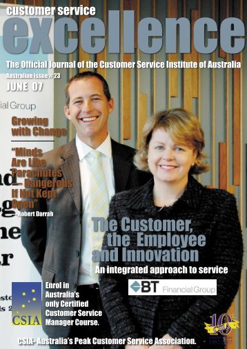 Issue 23 - Customer Service Institute of Australia