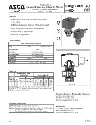 Asco 8320 Solenoid Catalogue.pdf - Apex Distribution Inc.