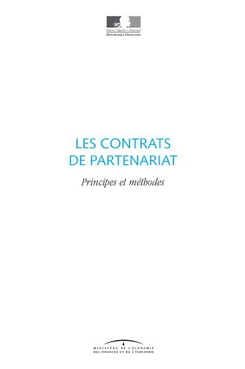 LES CONTRATS DE PARTENARIAT - Syntec ingenierie