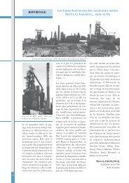 REPORTAGE Les hauts-fourneaux des anciennes usines Boël à La ...