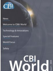 In this issue - CB&I