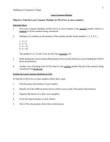 math worksheet : greatest common factor lowest common multiple worksheets  : Common Multiple Worksheet