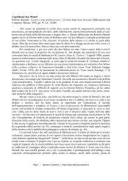 """Liquidiamo don Milani! Roberto Berardi, """"Lettera ... - Adrianocolombo.it"""