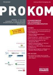 Kongressmesse für integrierte ProduKtKommuniKation - Werum