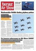 Air Show 2009. Pokaz swoich umiejętnoœci dadz¹ tak - Teraz Radom - Page 5