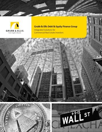 Grubb & Ellis Debt & Equity Finance Group