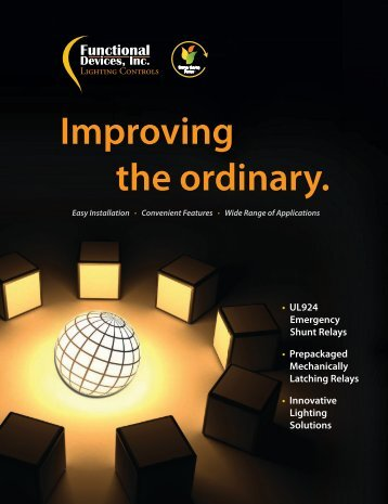 Download the 2013 Lighting Controls Catalog - Functional Devices ...