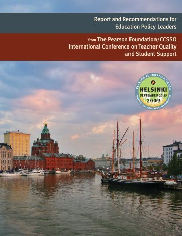 from The Pearson Foundation/CCSSO International Conference on ...