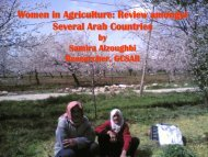 Women in Agriculture: Review amongst Several Arab Countries - AIWF