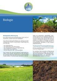 Biologie - UTS Biogas