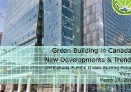 3 Mueller EU Green Building Forum 120319 - Europe Green Building Forum