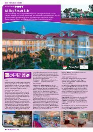 Ali Bey Resort Side mit Preisliste - Patricio Travel
