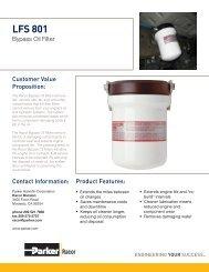 LFS 801 Bypass Oil Filter - Bolland Machine