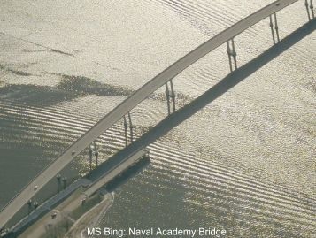 MS Bing: Naval Academy Bridge - Annapolis Striders