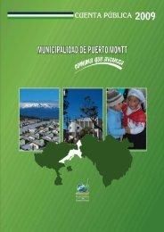 Año 2009 - Transparencia Municipal - Municipalidad de Puerto Montt