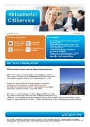 Aktualności nr 4 (PDF, 702 KB) - Citibank Handlowy