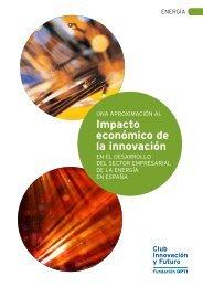 Una aproximación al impacto económico de la innovación en ... - OPTI