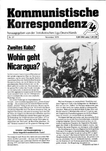 KK 27/79 - International Bolshevik Tendency