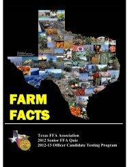 2010 Texas Farm Facts - Texas FFA Association