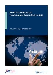 SGI report gives Indonesia - SGI - Sustainable Governance Indicators