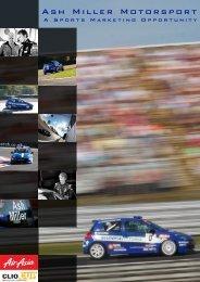 AM version 1 - Ash Miller Motorsport
