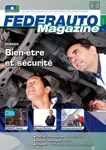 Bien-être et sécurité - Federauto Magazine