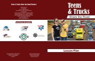 Lesson Plan - Commercial Vehicle Safety Alliance