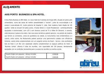 Informação sobre alojamento no Porto