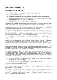PENSIONE DI INABILITÀ - ANGSA Lombardia ONLUS