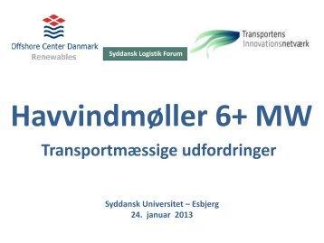 Introduktion Havvindmøller 6+ MW - John Koch Nielsen