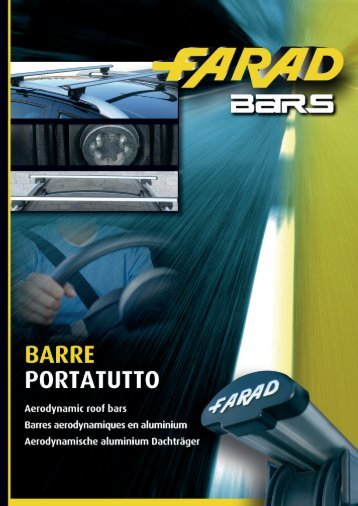 BARRE PORTATUTTO Roof bars Barres aerodynamiques ... - Farad