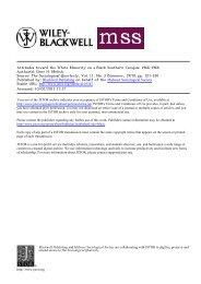 Attitudes toward the White Minority on a Black Southern Campus ...