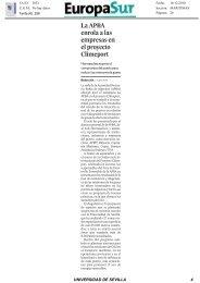 17/12/2010 Noticias publicadas en Giralda Información ... - OTRI