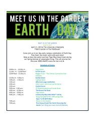 MEET US IN THE GARDEN EARTH DAY April 21, 2011@ The ...