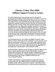 FFP 2006 - Fluency Friday Plus