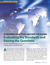 focus group on radiology screening practices