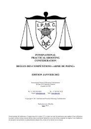 edition janvier 2012 - Restigouche County Sport & Gun Club