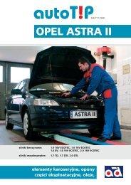OPEL ASTRA II - Diamond Car