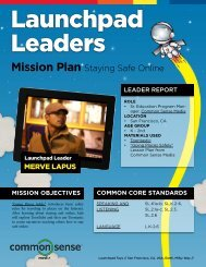 Mission Plan Staying Safe Online - Launchpad Toys