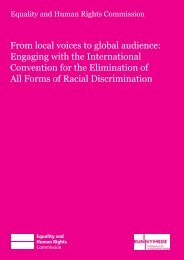 From local voices to global audience: Engaging with - Equality and ...