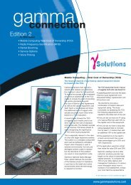 4267_GS NewsLetter FA.qxd - Gamma Solutions