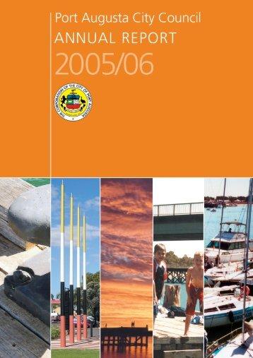 Annual Report 2005/2006 - Port Augusta - SA.Gov.au