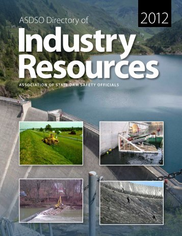 ASDSO Directory of - Association of State Dam Safety Officials