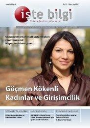 Göçmen Kökenli Kadınlar ve Girişimcilik Göçmen Kökenli ... - Iste Bilgi
