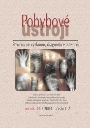 1+2/2004 - Společnost pro pojivové tkáně