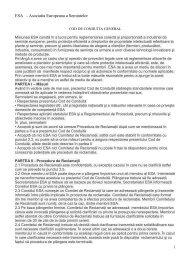 Codul de conduită al membrilor ESA - amsem
