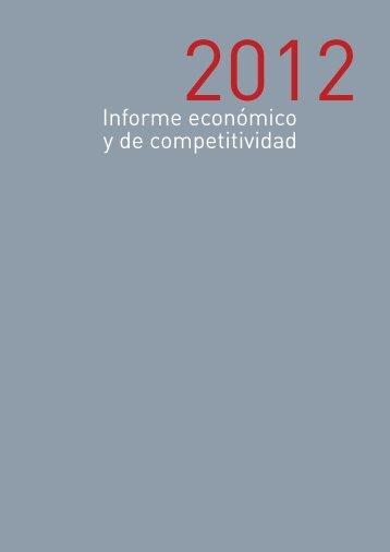 ARDÁN Galicia 2012 Informe económico y de competitividad - Ardan