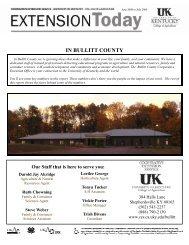 here - Bullitt County Cooperative Extension - University of Kentucky