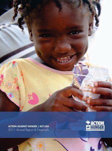 Action Against Hunger Financial Report 2011